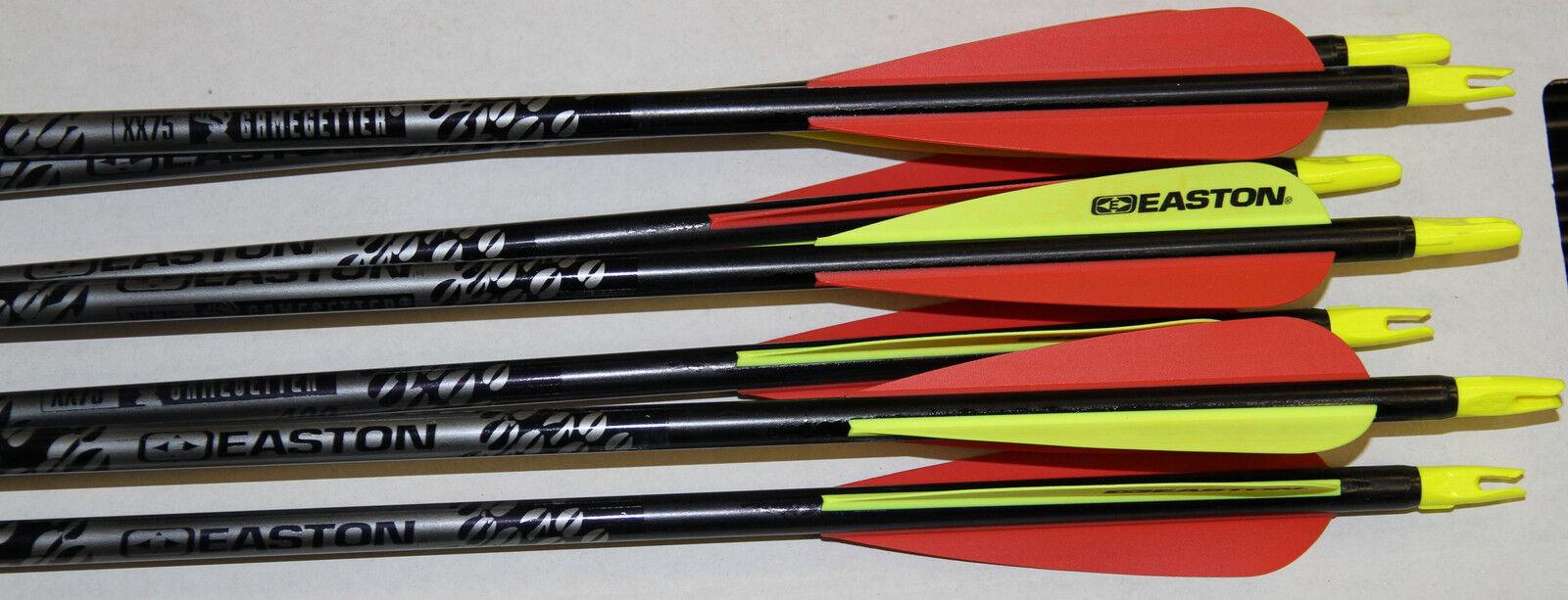 Easton Xx75 Juegogetter 400 Flechas  Con Paletas Y EnCochetes    1 Docena      opciones a bajo precio