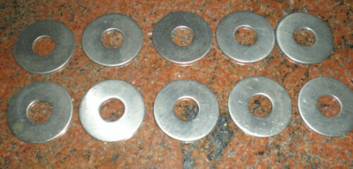 """1008x10 lot 10 1 1//4/""""od 7//16/"""" hole washer stainless"""