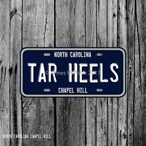 University Of North Carolina Chapel Hill Tar Heels License