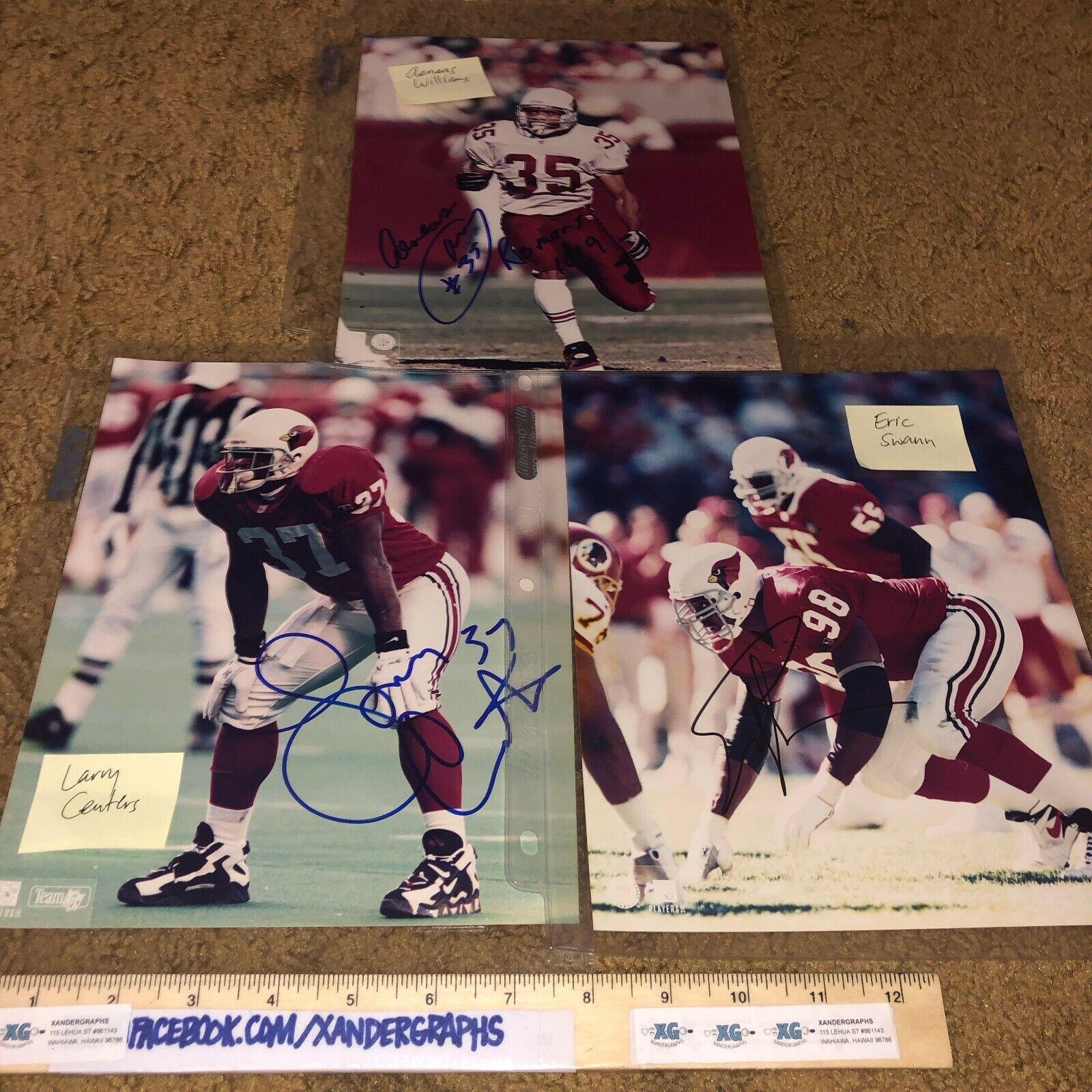 Pro Bowl Calcio NFC West Autografato 8x10 Lotto (20) Ken Norton Jr Merton Hanks