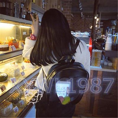 Japan Wego Harajuku Girls Kawaii Bling Transparent Love School Bag cute Backpack