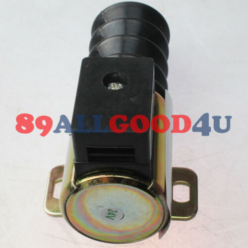 24V Push//Pull DC Stop Solenoid RP-2308BH 40700093 For Murphy