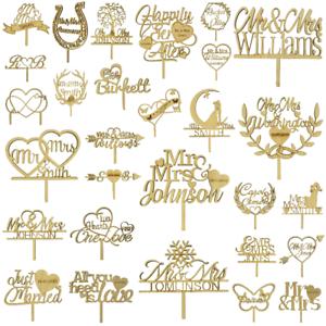 Personalised-Oak-Veneer-Wedding-Cake-Topper-Wooden-Decoration-Occasion-Rustic