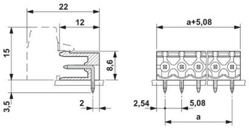 08 Combicon #bp 5 PCs 1759091 MSTB 2,5//10-g-5,08 Phoenix stifleiste 10 Pole rm5