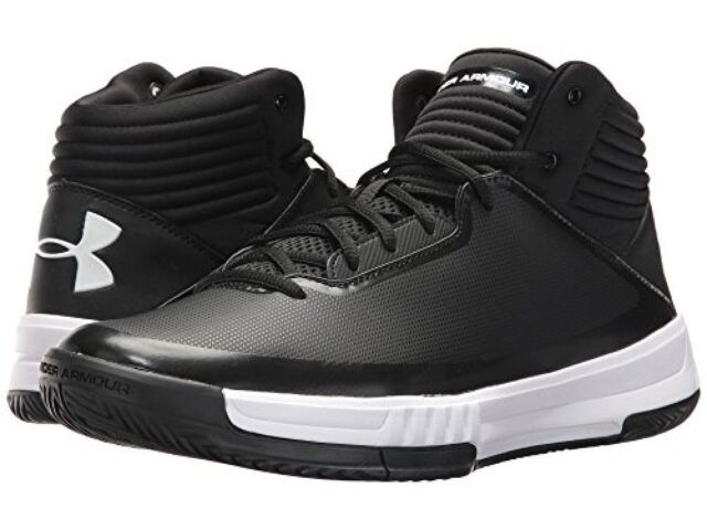a114e9e2f5790 Frequently bought together. Under Armour Mens 9.5 UA Lockdown 2 Black White  ...