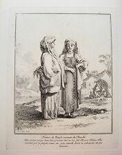 Le Prince, Jean Baptist (1733-1781) Marktfrauen alter seltener  Kupferstich 1764