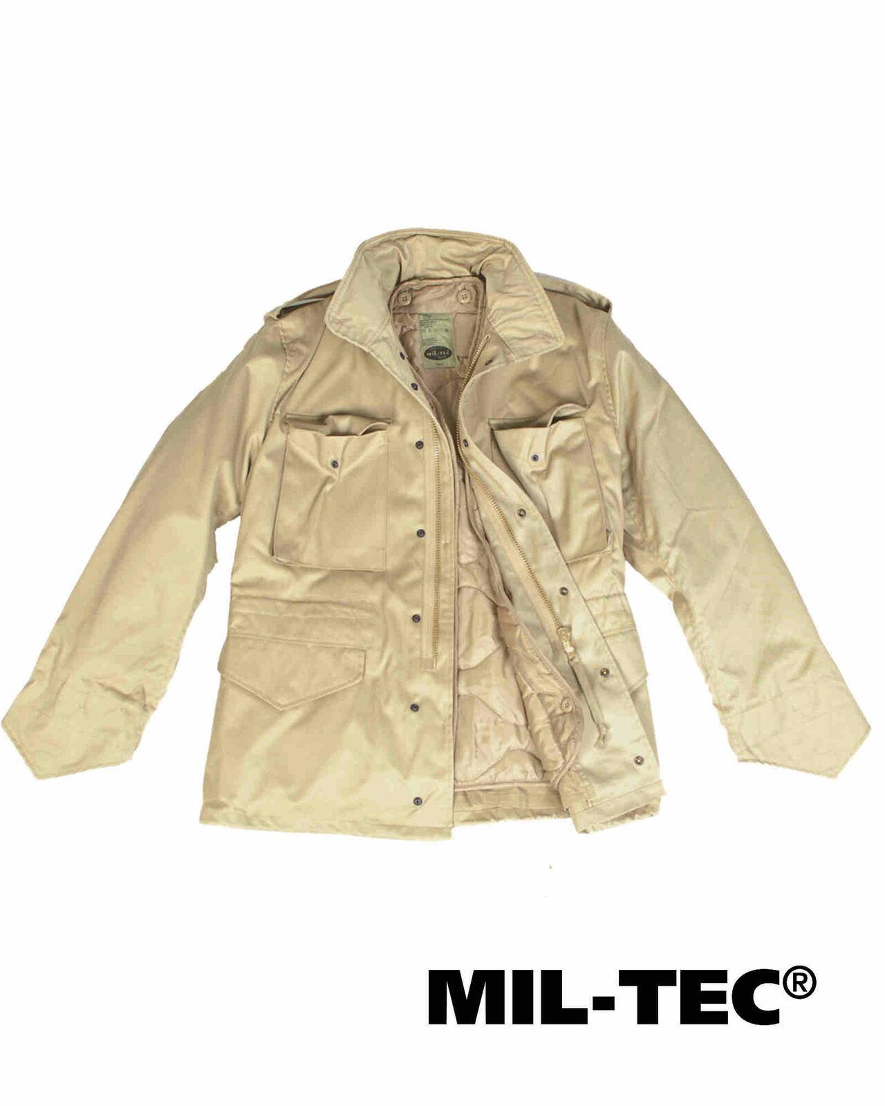 Mil-Tec US FELDJACKE M65 T C M.FU.KHAKI Outdoorjacke Outdoorjacke Outdoorjacke Jacke f71eed