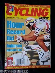 CYCLING-WEEKLY-HOUR-RECORD-BID-OCT-21-1995