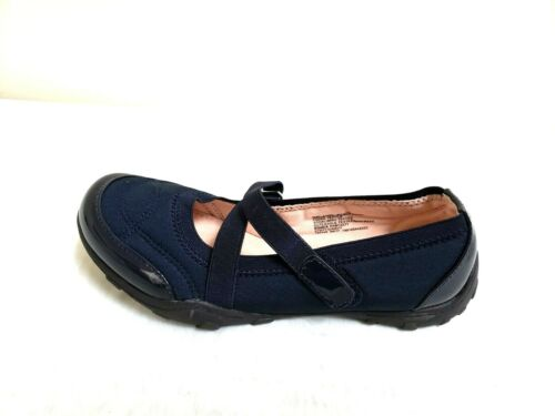NEW! Girl/'s SO Steffie Mary Jane Shoes 214396 Navy 198J tm