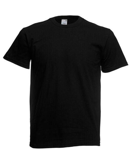 3 Pack Fruit Of The Loom Men S T Shirts Plain Cotton T Shirt
