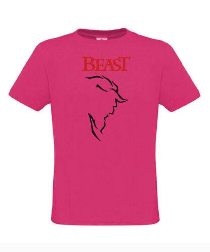 Saint Valentin T-Shirt-Bête Face S M L XL