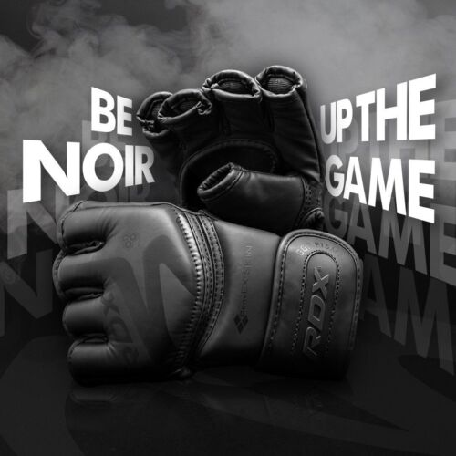 RDX MMA Gloves Sparring Martial Arts Muay Thai Grappling Cage Fighting Training