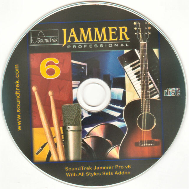 10 7 8 JAMMER Professional v6 Music Composing Arranging for WINDOWS XP VISTA