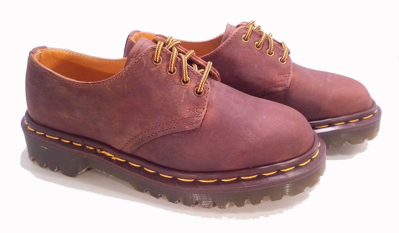basta comprarlo Dr. Martens Doc Doc Doc England Rare Vintage Aztec Crazy Horse 4 Eye scarpe US 5  con il prezzo economico per ottenere la migliore marca