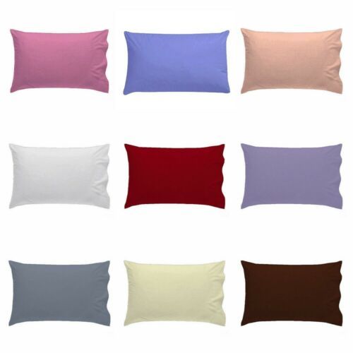 Cot Bed Pillow Case Only For Baby Toddler Poly Cotton Pillow Cover 40 x 60 cm