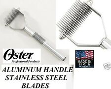 OSTER Dog Grooming Stripping MAT Breaker Coat Hair Shedding STRIPPER RAKE Tool