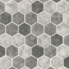 MSI Urban Tapestry 6mm Glass Hexagon 12x12 Mosaic Tile BACKSPLASH KITCHEN BATH