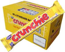Cadbury Crunchie Chocolate Bar 40g x 48 Full Box Kids Cadburys Sweets Bars Pack