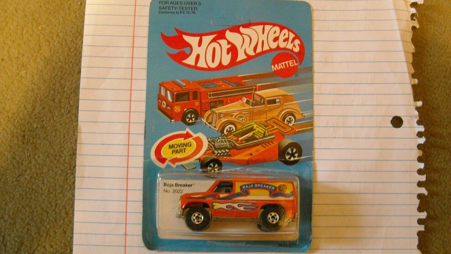 Vintage Hot Wheels Baja Breaker ENLOMADOR.