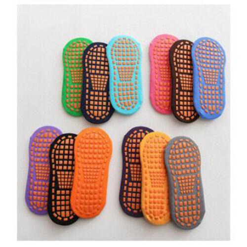 Paire de Chaussettes de Sol avec Semelles en Silicone Antidérapantes