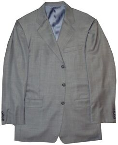PREOWNED-MINT-HICKEY-FREEMAN-BLACK-LABEL-GRAY-WEAVE-CANTERBURY-JACKET-42R-42-R