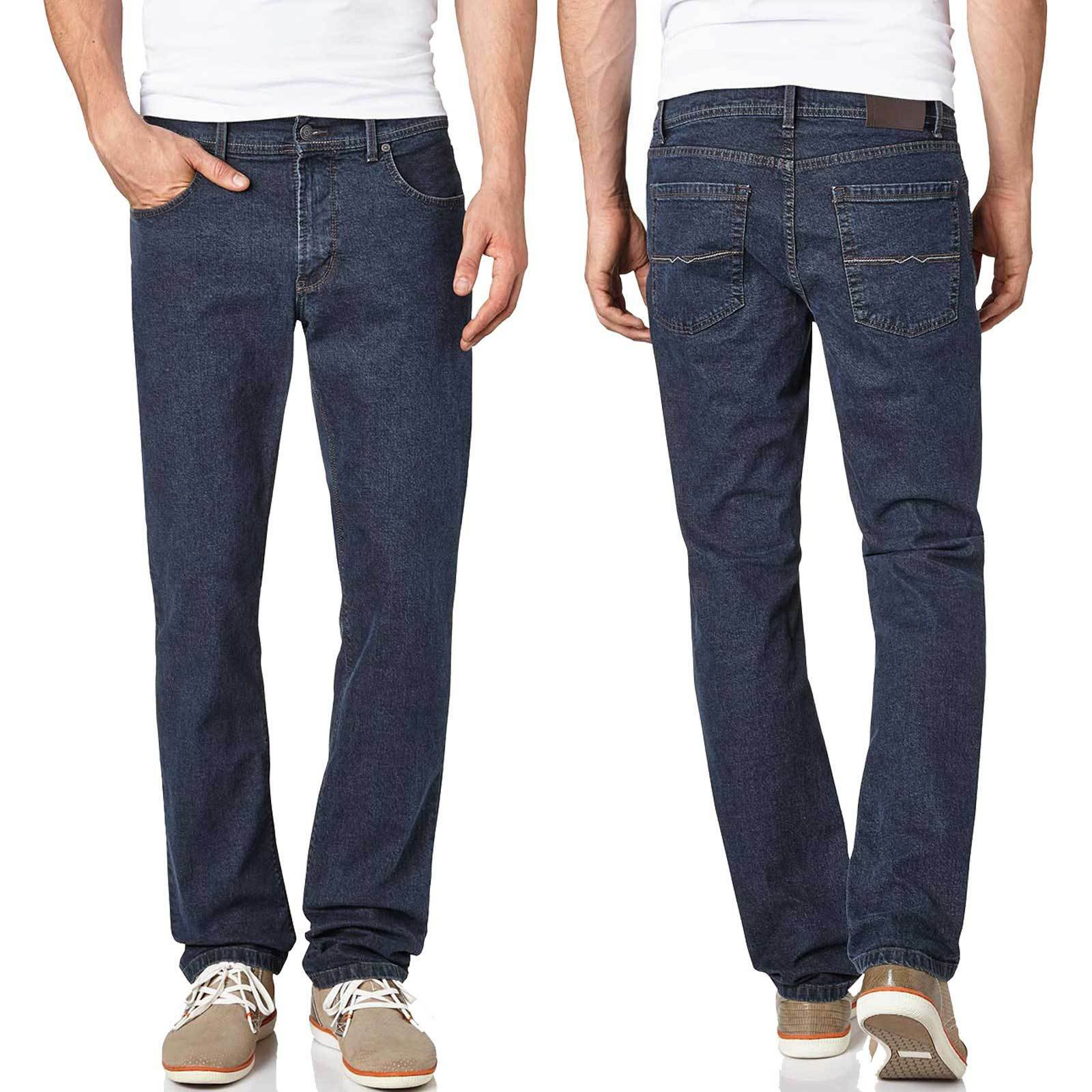 PIONEER  Rando 1680 Perfekte RINSED Waschung  TOP Stretch dunkelblue