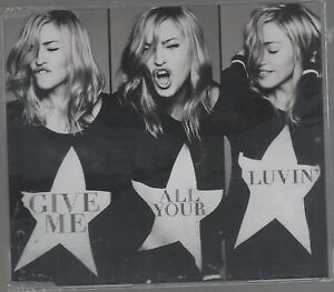 MADONNA-GIVE-ME-ALL-YOUR-LUVIN-CD-SINGLE-cds-SIGILLATO