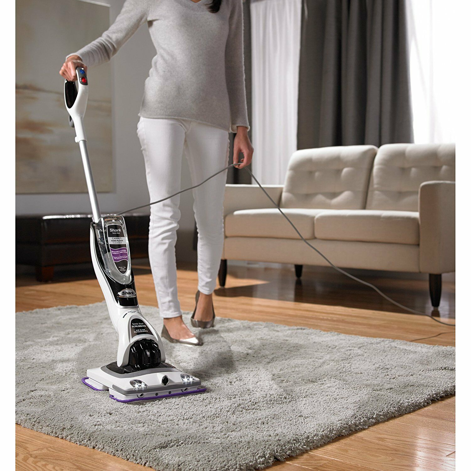 Shark Zz550 Sonic Duo Carpet And Hard Floor Cleaning