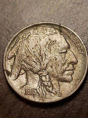 1913-P type 1 buffalo nickel
