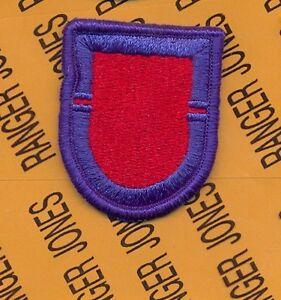 1st Bn 75th Infantry Airborne Ranger Regiment Beret flash patch #2 m//e