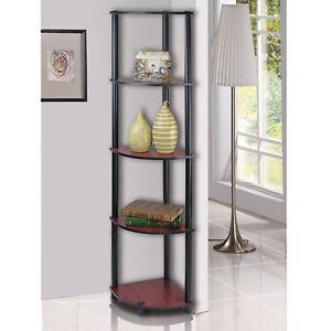 Image Is Loading 5 Tier Corner Shelf Storage Display Rack Bathroom