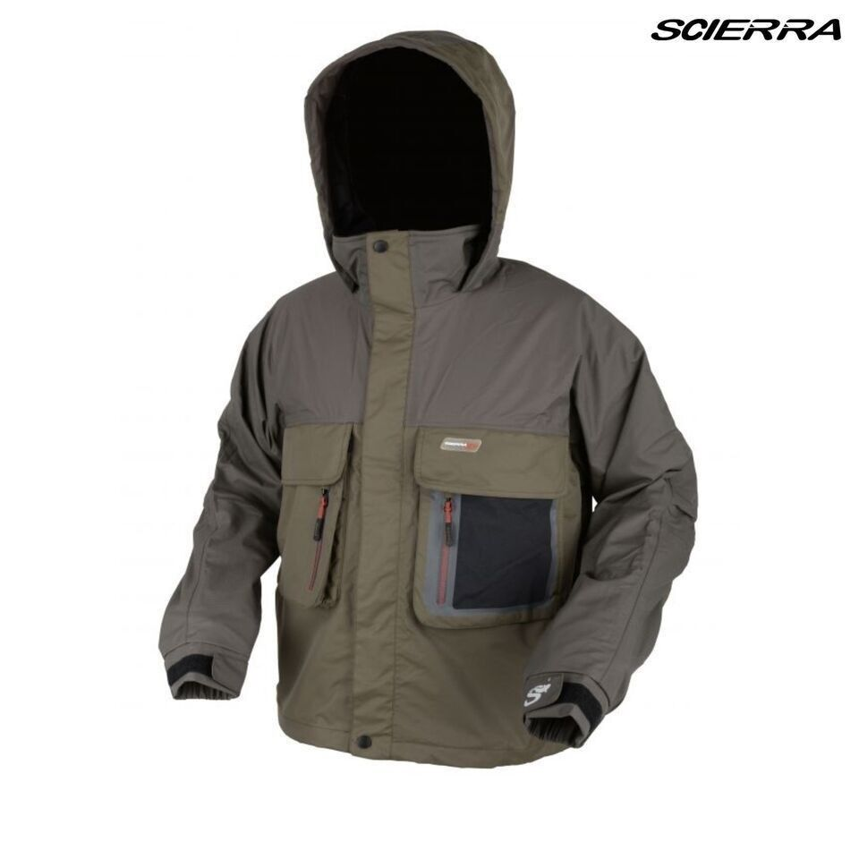 Scierra Kenai pro 100% Impermeable Impermeable Impermeable Pesca con Mosca Inflable Chaqueta 9ed588