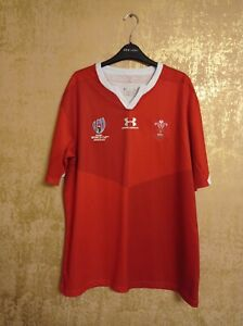 Wales Rugby Home Trikot Jersey Shirt Maglia 2019/2020 Under Armour XXL 2XL