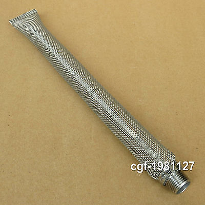 "Stainless Bazooka Screen 30cm (1/2"" NPT Thread) for Homebrew Kettle Mash Tun"