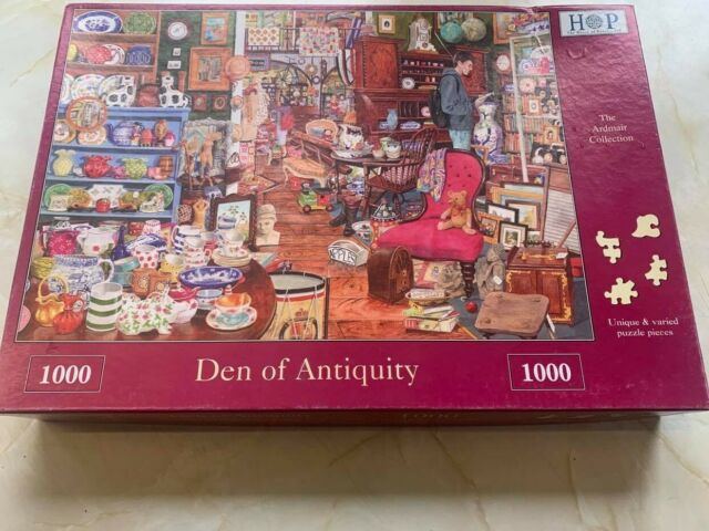 complete1000 piece puzzle