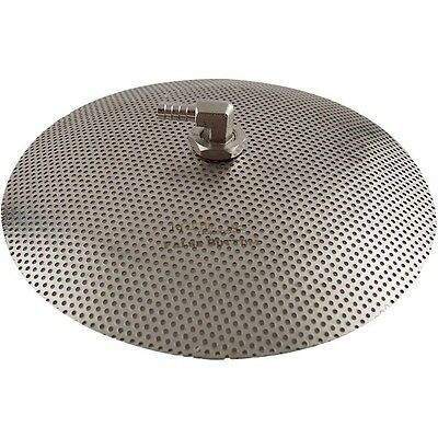Stainless Steel False Bottom for Brew Pot - 9,10,12 inch - Homebrew Brewing Tool