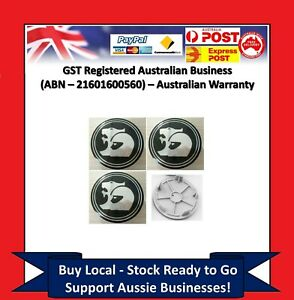 4-x-Wheel-Centre-Caps-Holden-63mm-HSV-Coupe-V2-VY-VZ-VE-VF-EX-GTS-Commodore-CY