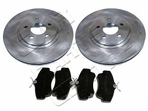 FOR-CHRYSLER-PT-CRUISER-2-0-2-2-CRD-2-4-FRONT-BRAKE-DISC-DISCS-amp-PAD-PADS-00-08