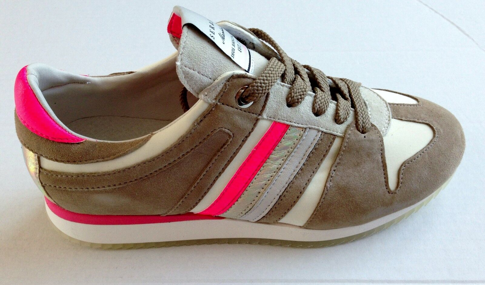 Serafini shoes Manhattan scarpe sneakers pelle shoes Serafini Donna Women 2782/3 08744e