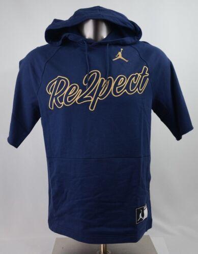 Nike Air Jordan Re2pect Short Sleeve Hoodie Navy Men/'s Size S-3XL AJ2472 419