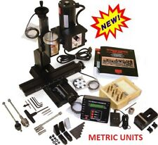 Sherline 5410a Dro Metric Deluxe Mill Package A Oil Reservoirs On All Axes