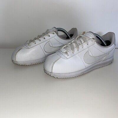 Nike Cortez White Trainers Size UK 5 | eBay
