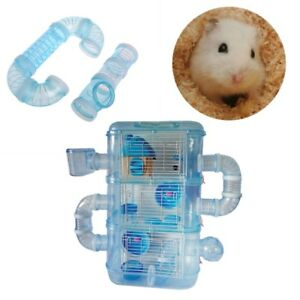 Hamster-External-Pipeline-Tunnel-Fittings-Tube-Exercise-Cage-Accessories-DIY
