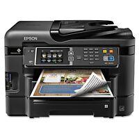 Epson Workforce Wf-3640 All-in-one Inkjet Printer Copy Scan Print & Fax -