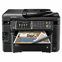 Epson Workforce Wf-3640 All-in-one Inkjet Printer Copy Scan Print & Fax -