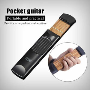 Portable-Pocket-Guitar-Practice-Tool-Gadget-Guitar-Chord-Trainer-RRP-24-99-Uk