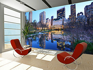 New york city central park wall mural photo wallpaper for Central park mural