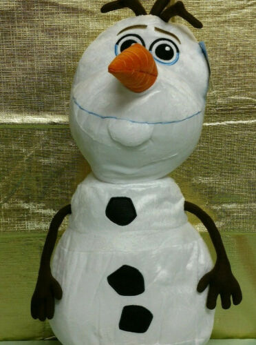 "Disney FROZEN Olaf Snowman Large Plush Stuffed Animal Pillow Toy Doll NEW 24/"""