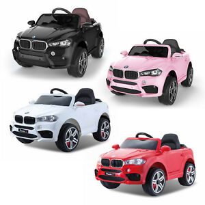 Details About 12v Electric Bmw X5 Style Battery Powered Kids Ride On Car Childrens Jeep Pink