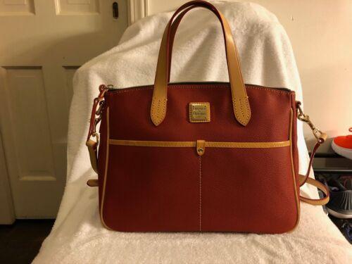 Womens's Dooney & Bourke Handbag - Brick Red